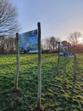 photography exhibition boards in nene park