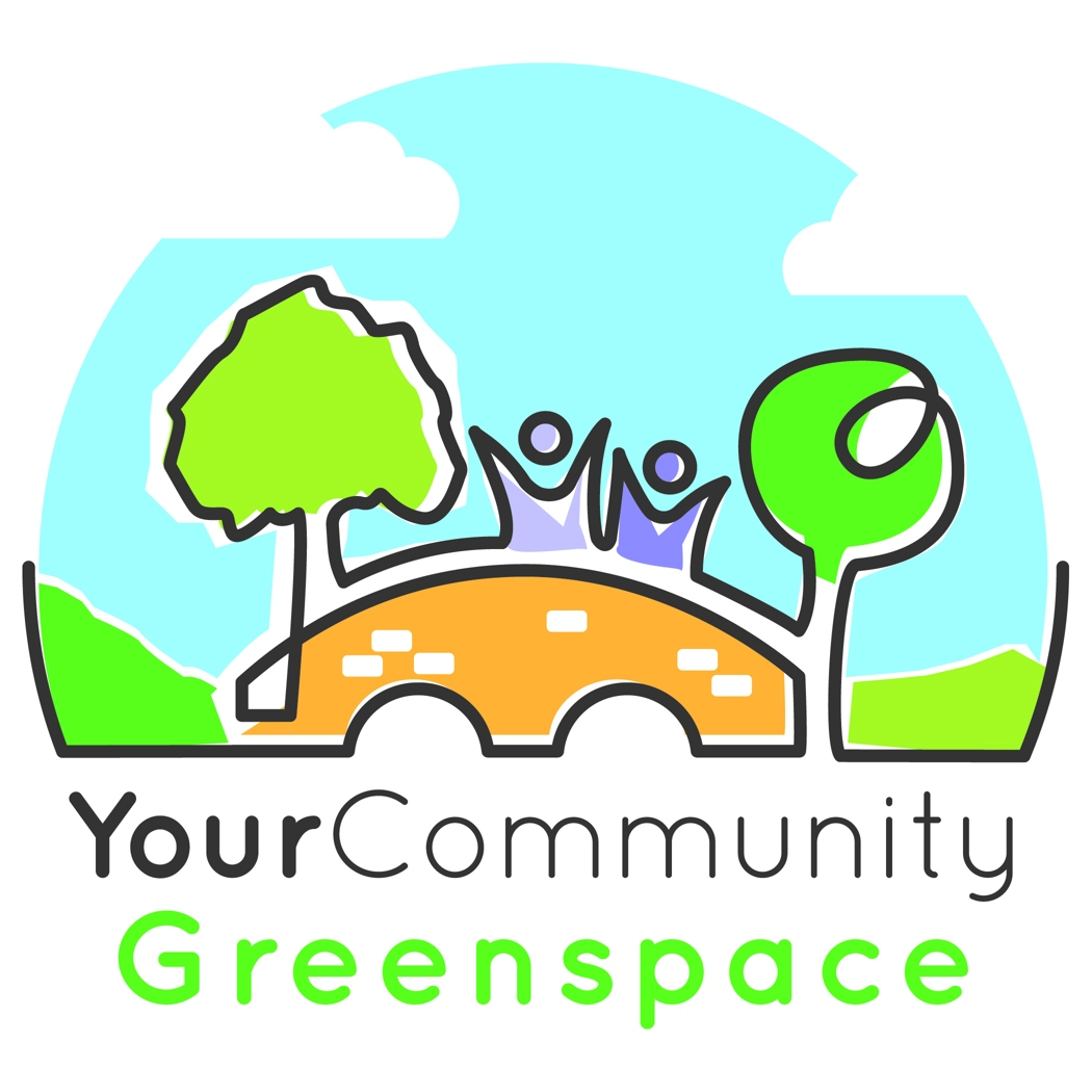 your community greenspace illustrated logo