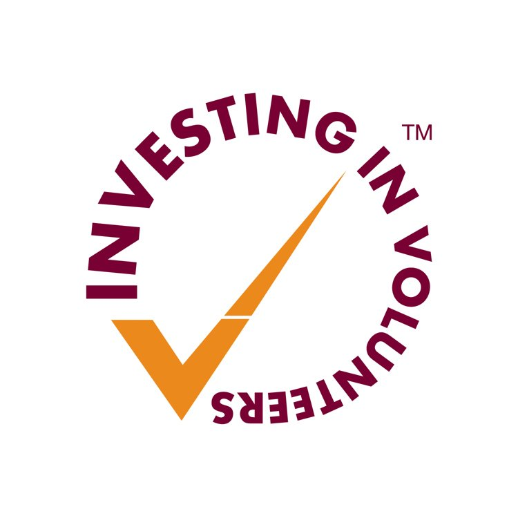 Investors in volunteers logo