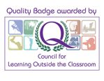 learning outdoors the classroom quality badge