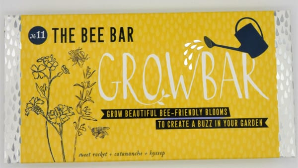 The Bee Growbar – a colourful collection of bee friendly blooms
