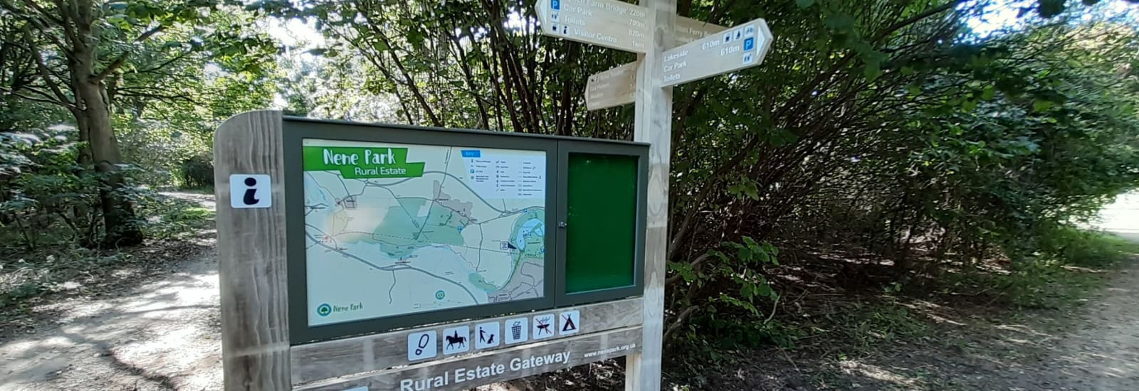 New signs and maps improve a visit to the Rural Estate