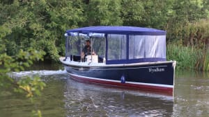 New eco-electric passenger boat