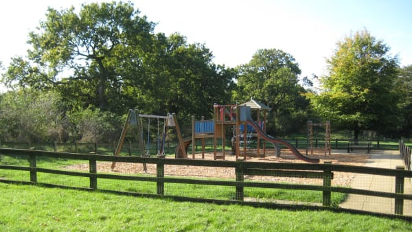 lakeside play area at Ferry Meadows
