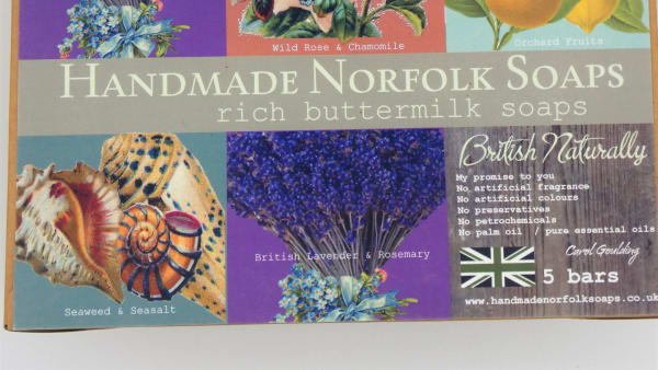 Handmade Norfolk Soap – Rich Buttermilk Soaps Collection