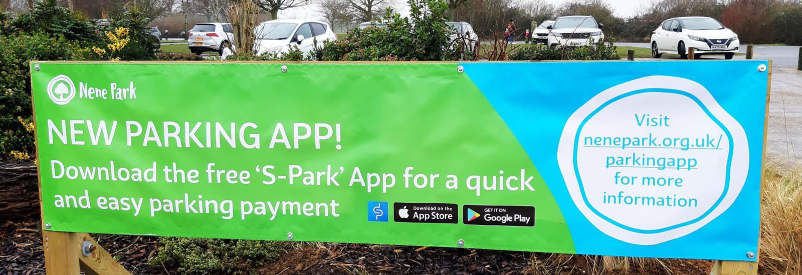 Announcing our new parking payment app